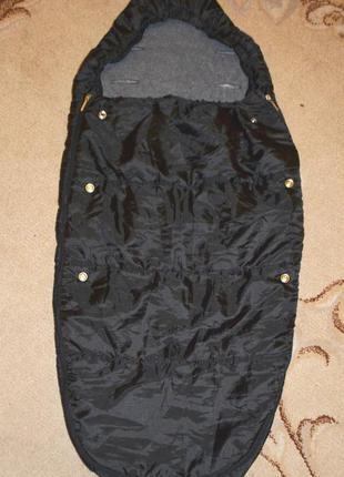 Спальный мешок, конверт, чехол на ножки в коляску prenatal