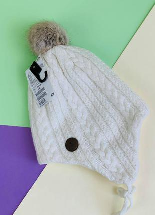 Зимняя шапка  h&m для девочки