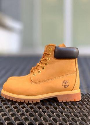 Ботинки timberland черевики нубук тимберленд