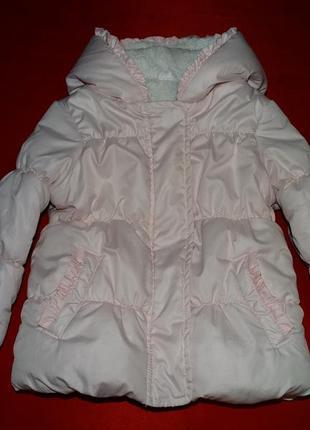 Теплая демисезонная куртка, курточка деми весна/осень