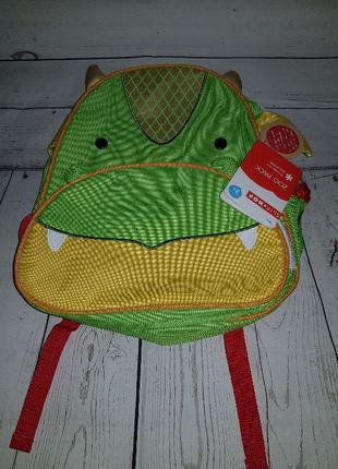 Детский рюкзак Skip Hop Zoo Little Kid дракон. Оригинал, США