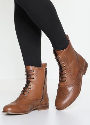 Р.41 стильные комфортные ботинки полусапоги натуральная кожа m...