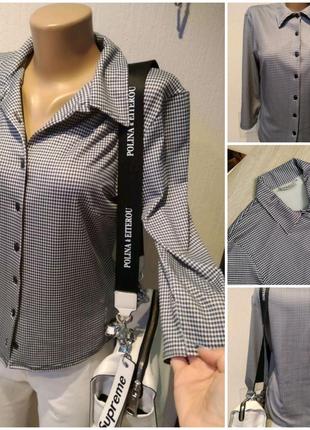 Стильная брэндовая блузка рубашка кофточка