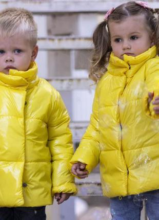 """Стильная демисезонная куртка """" moncler"""" детская  девочка +маль..."""