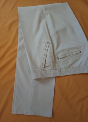 Мужские светлые летние брюки lusien, на рост 190