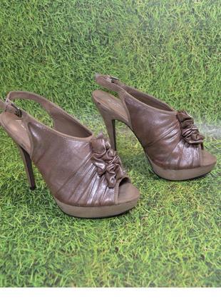 """Бренд """"aldo"""" италия! гламурные оригинальные босоножки туфли"""