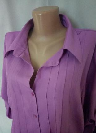 Яркая блузка, блуза, рубашка, большой размер  №5bp