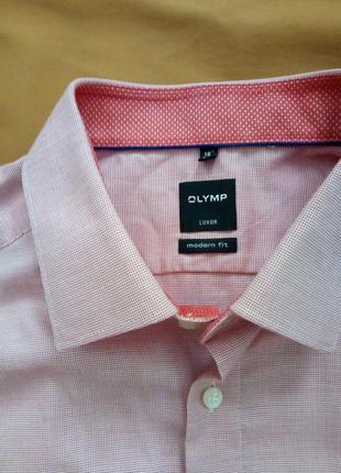 Классная мужская рубашка с длинным рукавом, большой размер