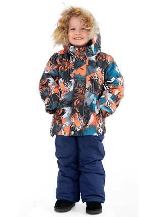 Зимний термо костюм комбинезон аналог reima lenne на мальчика 1-1