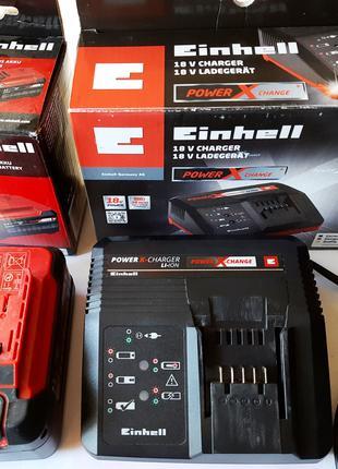 Зарядний пристрій Einhell 18 V + Аккумулятор Einhell Li-Ion 5.2 A
