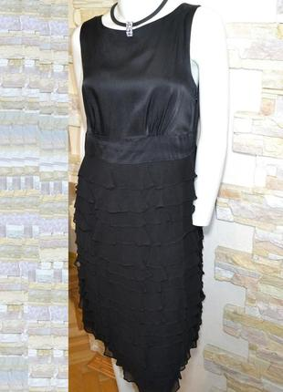 Р.48 нарядное соблазнительное фирменное платье, английский бре...