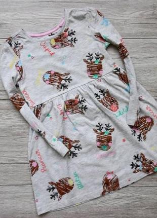 Платье новогоднее платье платтячко для девочки фирмы tu