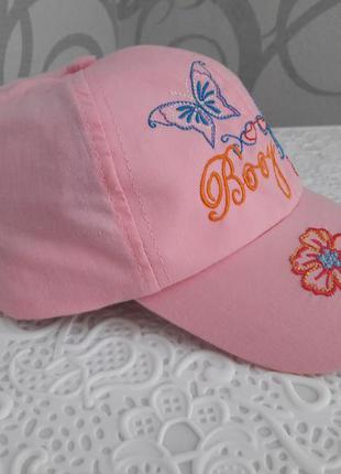 Кепка для девочки бейсболка панамка шляпа летняя кепка головно...