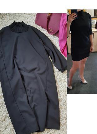 Базовое черное платье/гольф  мини ,zara  , p. s