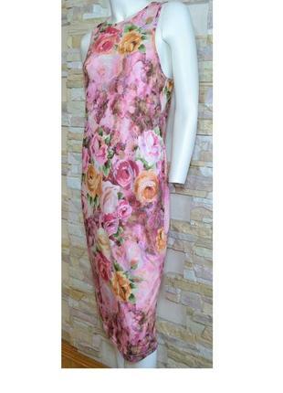 Красочное трикотажное летнее платье для соблазнительной фигуры