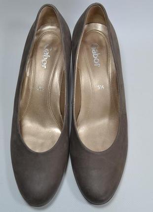 Германия gabor оригинал! стильные туфли повыш.комфорта натур. ...