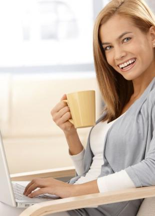 Администратор в интернет-магазин, женщина