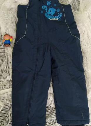 Термо штаны зимний комбинезон,полукомбинезон wedze stratermic ...