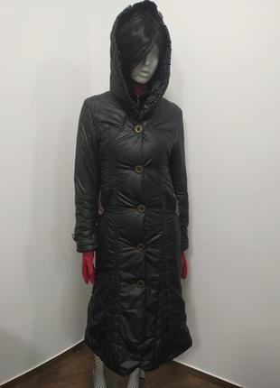 Зимнее пальто на синтепоне, molanndo,, р. m