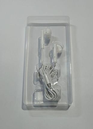 Навушники Huawei Honor AM115 orig не вак мік білі