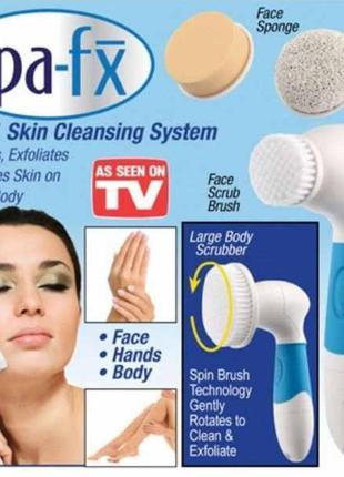 Щетка для очищения лица | Щеточка для умывания лица | Набор