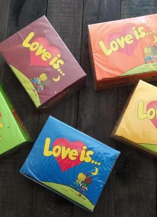Лове из Love is жвачка жвачки блок 100 штук