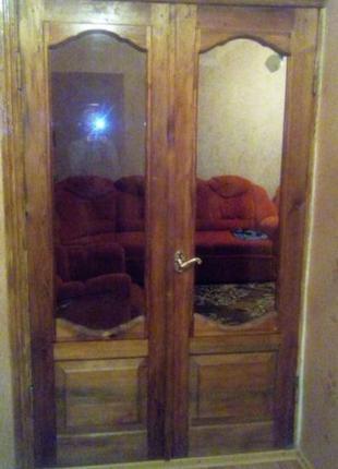 Двери деревянные, межкомнатные, б/у