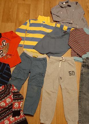 Комплект одежды осень-зима для мальчика на рост 116