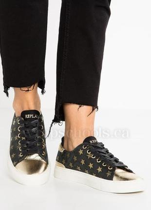 Repley итилия, оригинал! натур.кожа! стильные комфортные кросс...