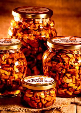 Грецкий орех в мёде/Грецкий орех в меду/Грецкие орехи в мёде/Орех