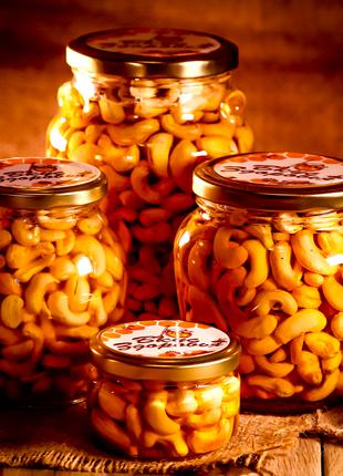Кешью в мёде/ Кешью в меду/ Орешки в мёде/ Орешки в меду
