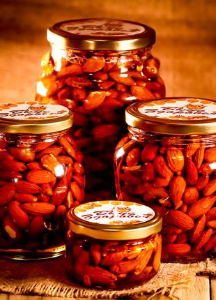 Миндаль в мёде/ Миндаль в меду/ Орешки в мёде/ Орешки в меду