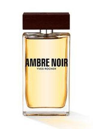 Туалетная вода мужская Ambre Noir Черная Амбра Ив Роше Yves Roche
