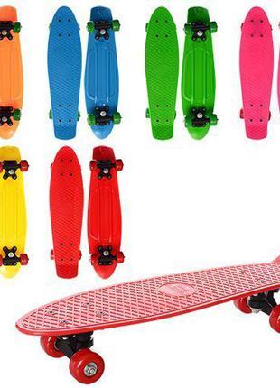 Penny board, пенни борд, скейтборд, детский скейт, светящиеся ...