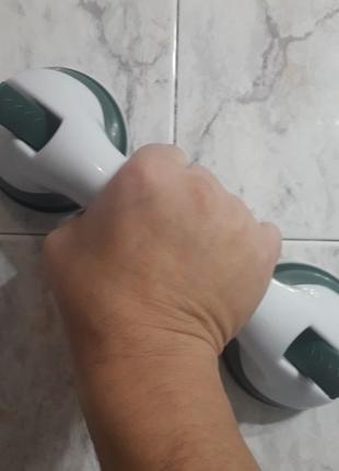 Ручка поручень на присосках для ванной Helping handle