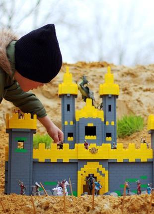 Развивающий детский блочный конструктор IqBricks - аналог LEGO...