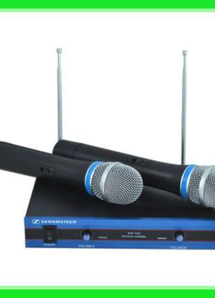 Радиосистема Sennheiser EW-100 двухканальная 2 микрофона