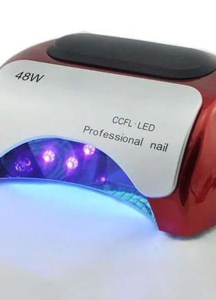 УФ лампа, сушилка для ногтей Beauty nail 18K CCFL LED 48W сен...