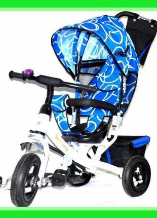 Трехколесный детский велосипед Lexx Trike колесо резина AIR— ...