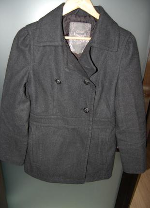 Пальто шерстяное, куртка, global