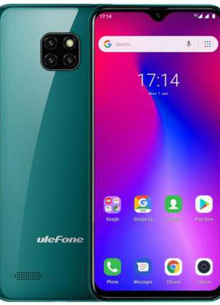 Смартфон Ulefone S11 1/16Gb Midnight Green
