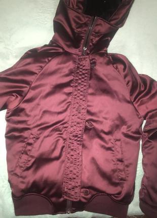 Куртка бомбер весна осень тёплая зима