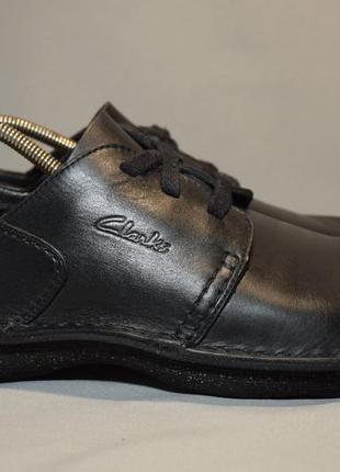 Туфли кроссовки clarks мужские кожаные. оригинал. 43 р./28 см.