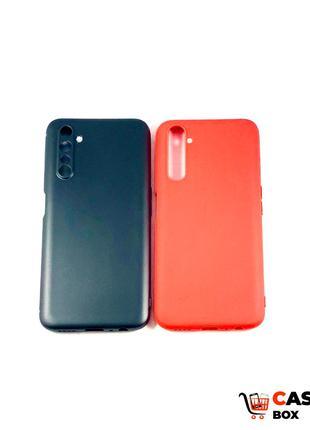 Цветной силиконовый чехол бампер для Realme 6 Pro