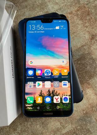 Телефон Huawei P20 lite в отличном состоянии