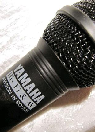 """Динамический микрофон """"Yamaha"""" для караоке с выключателем"""