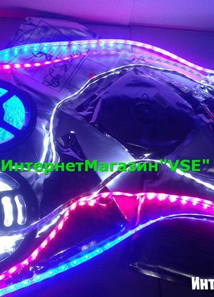 Светодиодная лента на светодиодах 2835 60 светодиодов В СИЛИКОНЕ