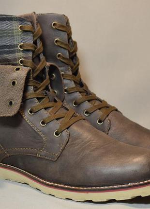 Ботинки geox respira мужские кожаные. камбоджа. оригинал. 44 р...