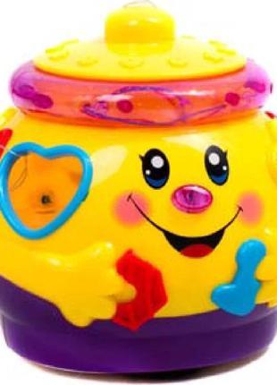 Игрушка обучающая Play Smart Поющий горшочек (жёлтый) (0915)