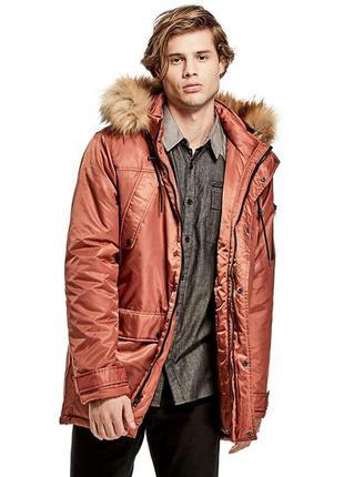 Мужская куртка парка guess. оригинал